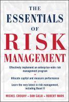 The Essentials of Risk Management