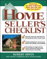 Home Seller's Checklist
