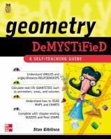 Geometry Demystified