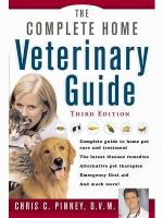 The Complete Home Veterinary Guide