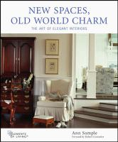 New Spaces, Old World Charm