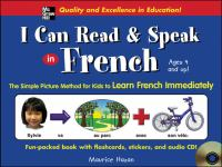 I Can Read & Speak in French