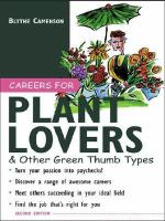 Careers for Plant Lovers & Other Green Thumb Types