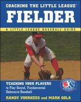 Coaching the Little League Fielder