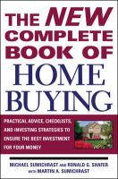 The New Complete Book of Home Buying