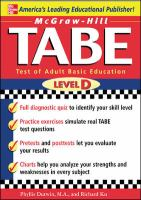 TABE Level D