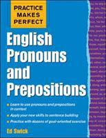 English Pronouns and Prepositions