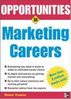 Opportunities in Marketing Careers