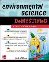 Environmental Science Demystified