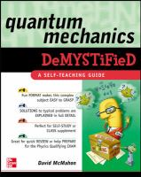 Quantum Mechanics Demystified