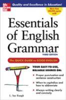 Essentials of English Grammar