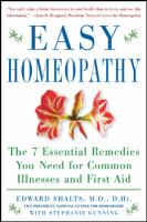 Easy Homeopathy