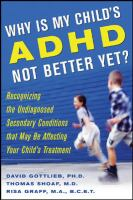 Why Is My Child's ADHD Not Better Yet?