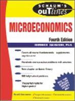 Schaum's Outline of Microeconomics
