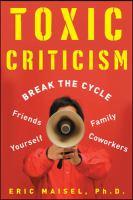 Toxic Criticism