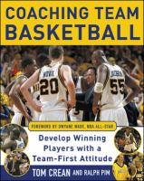 Coaching Team Basketball