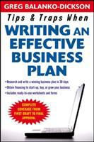 Tips and Traps for Writing An Effective Business Plan
