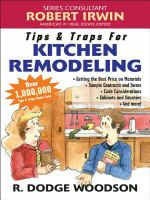 Tips & Traps for Remodeling your Kitchen