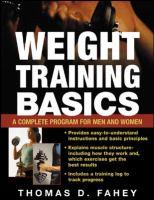 Weight Training Basics