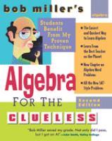 Bob Miller's Algebra for the Clueless