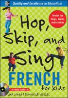 Hop skip, and sing french for kids