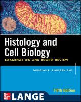 Histology & Cell Biology