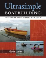 Ultrasimple Boatbuilding