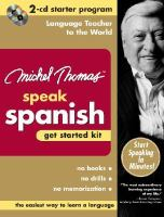 Michel Thomas Speak Spanish Get Started Kit