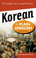 Korean in Plain English