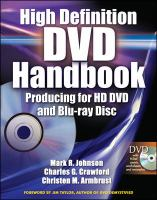 High Definition DVD Handbook