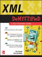 XML Demystified