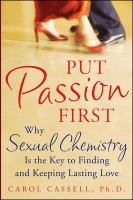 Put Passion First