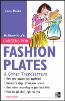 McGraw-Hill's Careers for Fashion Plates & Other Trendsetters