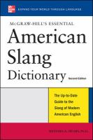 McGraw-Hill's Essential American Slang Dictionary