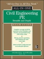 Civil Engineering PE Exam Guide
