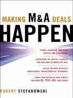 Making M & A Deals Happen