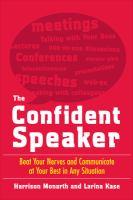 The Confident Speaker