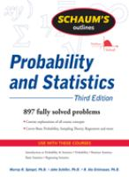 Schaum's Outlines: Probability and Statistics