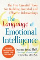 The Language of Emotional Intelligence