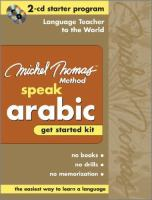 Speak Arabic Get Started Kit