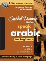 Speak Arabic For Beginners