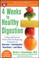 4 Weeks to Healthy Digestion