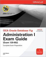 OCA Oracle Database 11g