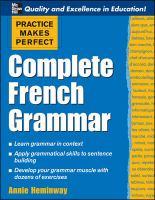 Complete French Grammar