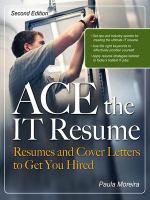 Ace the IT Résumé