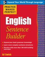 English Sentence Builder