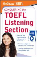 McGraw Hill's Conquering the TOEFL Listening Section for your IPod