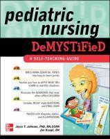 Pediatric Nursing Demystified