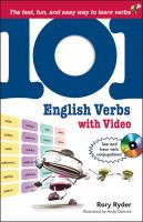 101 English Verbs With 101 Videos for your IPod