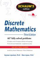 Schaum's Outline of Discrete Mathematics